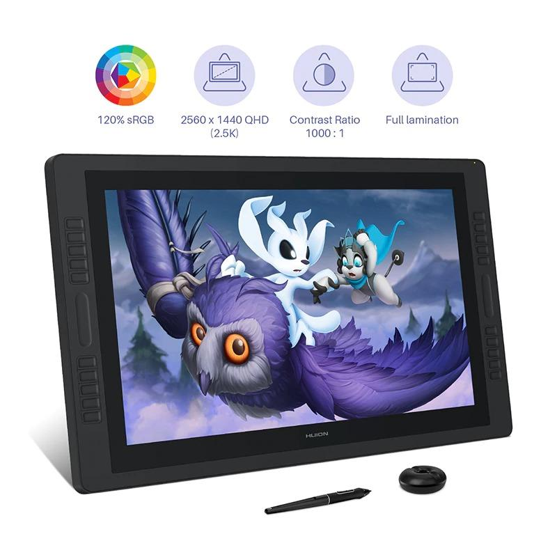 Huion Kamvas Pro 24 Grafik Çizim Tableti