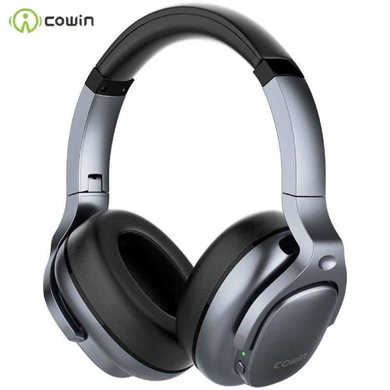 Cowin E9 ANC Bluetooth Kulaklık - Gümüş