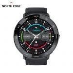 North Edge NL03 Akıllı Saat - Siyah