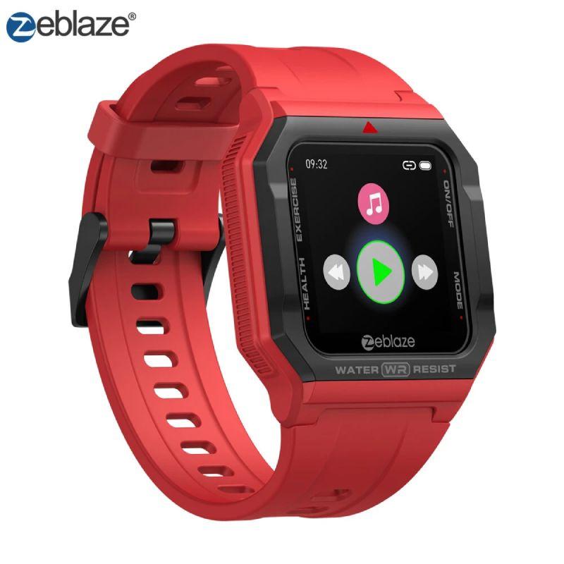 Zeblaze Ares Retro Akıllı Saat - Kırmızı