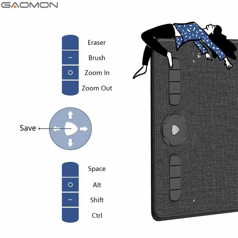 Gaomon M1230 Grafik Çizim Tableti