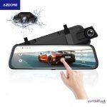 AZDOME PG02 Dikiz Aynalı Araç Kamerası