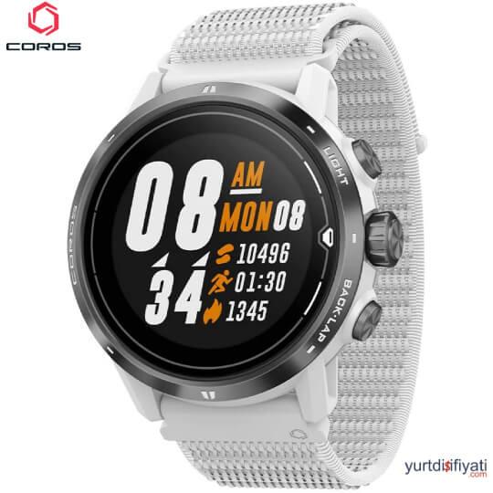 Coros APEX PRO Akıllı Saati - Beyaz özellikleri en ucuz yurt dışı ve Türkiye fiyatlarının karşılaştırması