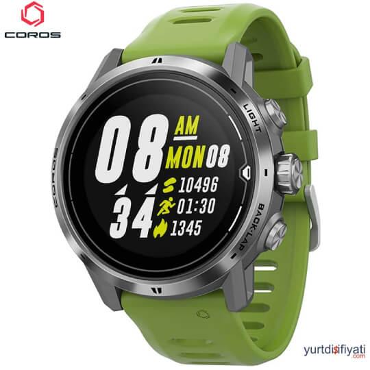Coros APEX PRO Akıllı Saati - Gümüş özellikleri en ucuz yurt dışı ve Türkiye fiyatlarının karşılaştırması