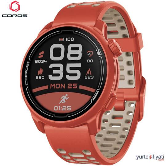 Coros PACE 2 Akıllı Koşu Saati - Kırmızı özellikleri en ucuz yurt dışı ve Türkiye fiyatlarının karşılaştırması