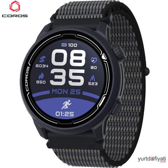 Coros PACE 2 Akıllı Koşu Saati - Mavi Naylon Kayış özellikleri en ucuz yurt dışı ve Türkiye fiyatlarının karşılaştırması