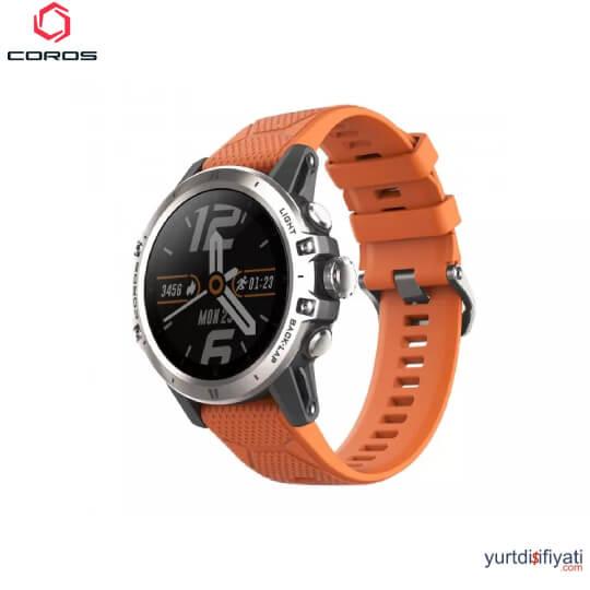 Coros VERTIX GPS Akıllı Saati - Turuncu özellikleri en ucuz yurt dışı ve Türkiye fiyatlarının karşılaştırması