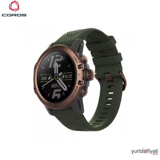 Coros VERTIX GPS Akıllı Saati - Yeşil özellikleri en ucuz yurt dışı ve Türkiye fiyatlarının karşılaştırması