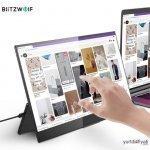 BlitzWolf BW-PCM8 Taşınabilir Telefon Bilgisayar Monitörü