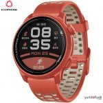 Coros PACE 2 Akıllı Koşu Saati – Kırmızı